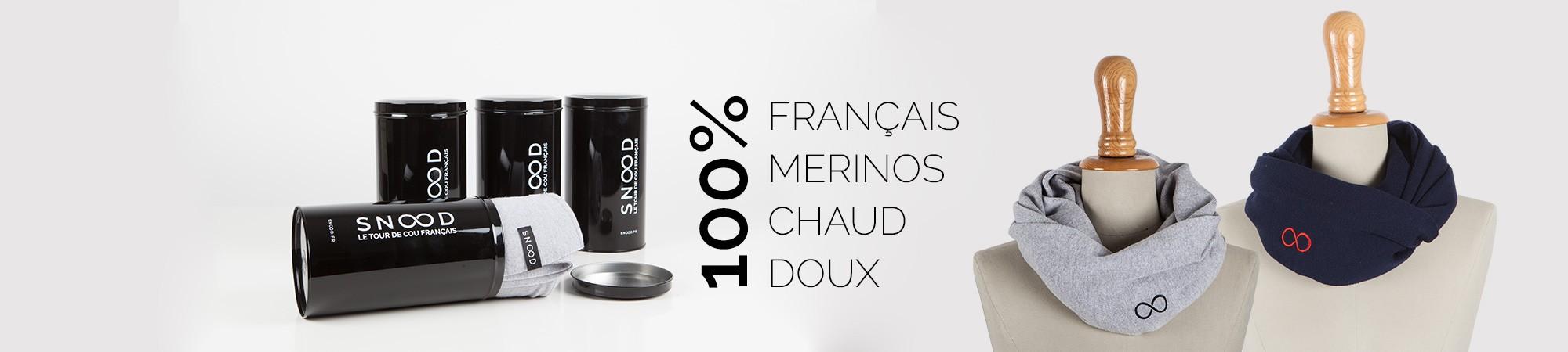 Les snoods merinos 100% français